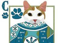 Cat Stars / by Kathy Stevens
