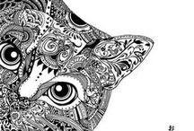 Doodling! / Doodling, Zentangle, Zentangle Inspired Art