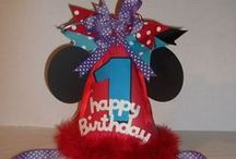 Minnie Mouse July 4th B-Day / My Niece Cheyeanna Turns 1 yrs old on 7-4-14. Here are some cute ideas for a Minnie Mouse 4th of July Party. To order you may contact me at orders@craftyframes.com. I had so much fun creating her party decorations that I just had to share them with you all.  / by Crafty Frames