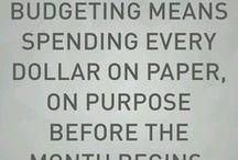 Money Stuff / One of my least favorite aspects of adulthood - finance and money stuff. Yuck.