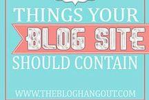 Blogging / Blogging Resources!