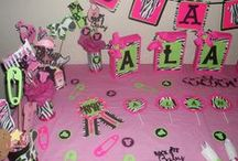 Pink, Zebra Print & Lime / Pink, Zebra Print & Lime Green Baby Shower Decorations I designed for my sister's Pink, Zebra Print & Lime Green Baby Shower. Let me know what you think! Shipped 8-16-14 / by Crafty Frames