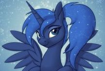 ☾ Princess Luna ☽ / The fun has been doubled!   ** Welcome followers and fellow Luna fans! I hope you enjoy the artwork I've posted here. Please leave feedback on the artist's page if you can! **