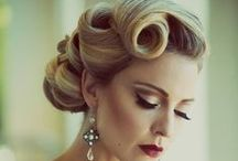 Pinup Hair / Pinup hair for a pinup photoshoot.