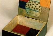 boxes, bowls and other containers / by Carol Simmons