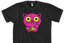 Animal T-Shirts / A collection of our tees with animals on them, cute and ferocious alike.