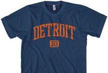 Detroit T-Shirts / Our Detroit, Michigan T-Shirt Collection.