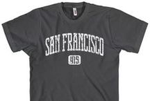 San Francisco T-Shirts / Our Collection of San Francisco, California T-Shirts.