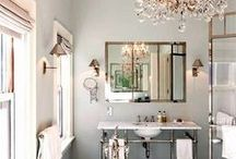 beautiful bathrooms / by Joy Burt