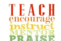 Teacher Resources/Ideas
