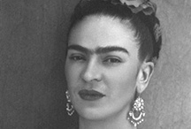 All things Frida! / I have mad love for this artista.  She is one of my biggest art influences!