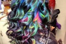 Multi-Colored Tresses / You can color your hair pretty much any shade you want nowadays. This board is proof of that.... / by April D.