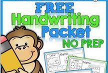 Kinder Handwriting