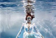 Inspiración - movimiento sumergido / El agua nos inspira movimiento. / by Wapa'm Hairstylist
