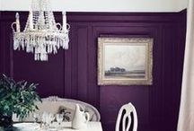 PURPLE Paint Colors / Purple Paint Colors / by Sarah Sarna