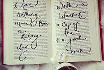 Rainy days are perfect for reading!