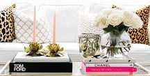 Coffee Table Styling + Decorating / Coffee Table Styling + Decorating Ideas.