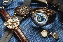 Chronos / You can always judge a man by his watch and his shoes. / by Michael Hungerford