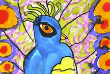 Art Projects for Kids: Bird Art Camp / I reorganized this board...please see my other boards if you're looking for a particular project and can no longer find it. Also feel free to follow my other boards too!