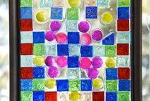 Art Projects Ideas: Suncatchers