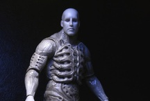 """Prometheus Series 1 / Series 1 of our Prometheus action figures include Pressure and Chair Suit Engineer. Built to 7"""" scale, these figures are approx. 8.5"""" tall. Available in the end of September."""