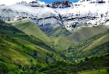 Mountains, Valleys, Lakes / Mountains, Valleys, lakes.