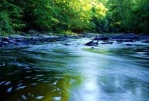 Brooks, Streams, Rivers, Lakes