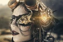 Styles I Love: Steampunk etc. / It's mostly #steampunk, maybe #Goth influenced, #Victorian too.