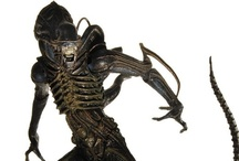 Alien - Aliens - Aliens vs Predator / Figures and Headknockers from the entire NECA Alien family