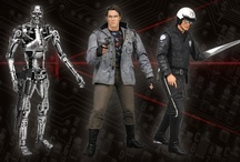 Terminator Series 1 / Series 1 of the Terminator Collection includes Tech Noir T-800 from the original movie, the Motorcycle Cop T-1000, and the Endoskeleton.