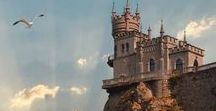 Castles / The castles that will inspire the writer.