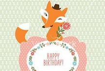 Happy Birthday to you! / All the vectors you need for the best day of the year! Party invitations, decorations and birthday cards.