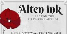 Alten Ink: Indie Publisher / So you want to be an author. It's easy, right? Just sit behind your laptop and write. Hmm, maybe there's a little bit more to that. http://www.AltenInk.com