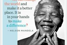 Remember Nelson Mandela / Inspirational quotes from Nelson Mandela. We remember his belief in us, proud to have shared this world and this time with Nelson Mandela, our Madiba. / by Good Housekeeping SA