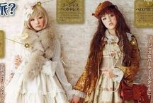 Lolita Kei / Dolly Kei  / Classic Lolita inspirations, theme and colors.