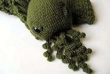Mythical Amigurumi / Amigurumi patterns or pictures of mythical creatures/ beings.