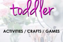 Toddler | Activities, Crafts, Games / Activities for toddlers from arts & crafts to game ideas.