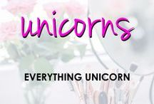 Unicorns | Anything and Everything Unicorn / Pins about anything related to unicorns.