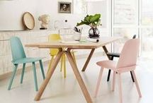 Dine Modern / Modern dining inspiration, including dining tables, chairs, lighting, storage and more.  / by YLiving
