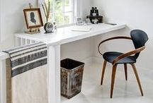 Work Modern / The best collection of modern workspaces to inspire a simple, chic home office. / by YLiving