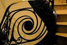 Architecture & Details: Art Deco and Nouveau / See Also: Art Nouveau and  and Glass: Nouveav et Deco  / by Patty Flagler