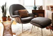 Inspiration: Womb Chair / by YLiving