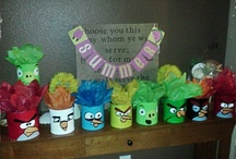 Angry Birds / by Sherry Rudegeair Morales