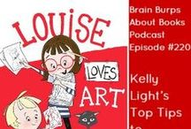 Podcasts for Writers / Brain Burps About Books, teaches writers and educators all about the craft and business of publishing. Listen at http://www.katiedavis.com/podcast