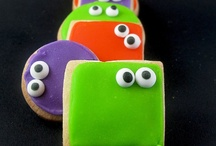 Halloween Glory I mean GORY / I love #Halloween! Great #cookie #recipes, #candy #monsters and #costumes!