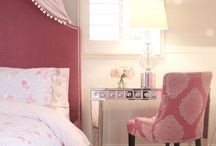 NSID: Big Girl Bed / Remodel of a glamorous little girl's room by Nagwa Seif Interior Design.