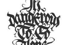 DESIGN --- calligraphy, lettering