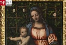 BERNARDINOLUINI E I SUOI FIGLI / From the 10th of April 2014 the art of Renaissance is back to Palazzo Reale with a great exhibition dedicated to Bernardino Luini http://www.mostraluini.it/