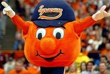 Otto the Orange ⚜ / Otto the Orange, Mascot of syracuse University, Syracuse NY | I will make this a group board if you can stick with Otto Only - message me. / by The Daring Comet