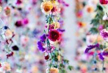 Floral / Flowers, leaves, floral decoration, bohemian, oriental, romantic